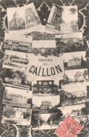 27 SOUVENIR DE GAILLON VUES MULTIPLES  CIRCULEE 1906 - Other Municipalities