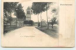 PONCHARTRAIN  - Eglise De Jouars (carte Vendue En L'état). - France