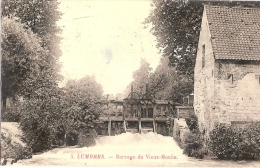 62 LUMBRES  BARRAGE DU VIEUX MOULIN 1908 - Lumbres