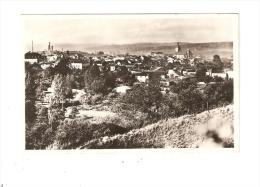CPA :57 - Moselle : Bouzonville :Vue Générale : Maisons - église - Cheminées Usines ...- Peu Commune - France
