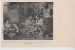 MUSEE DU LOUVRE LOT DE 6 CARTES DE TABLEAUX DIVERS CARTES PRECURSEUR - Peintures & Tableaux