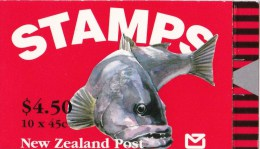 New Zealand 1993 Fish - Simply Seafoods Booklet MNH - See 2nd Scan - Booklets