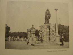 India - Pondichéry  Puducherry, Pondicherry - Dupleix Statue    Print  Ca 1900 - AFK.54 - Estampes & Gravures