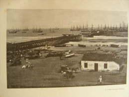India - MADRAS - Bay    Print  Ca 1900 - AFK.57 - Estampas & Grabados