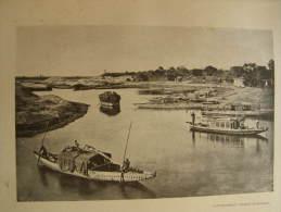 India - Chennai - MADRAS - Canal     Print  Ca 1900 - AFK.58 - Estampas & Grabados