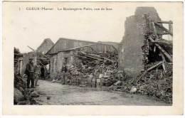 Gueux - La Boulangerie Patin, Vue De Face  (détruite / Guerre) - France
