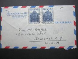 Brief Nach Den USA - Periode 1891-1948 (Wilhelmina)