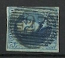 BELGIE 7 A  GEST. CHIMAY 27  ( COB ) COTE : 8 EURO + 250 BFR A 15 % !!!!! - 1851-1857 Médaillons (6/8)