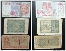 1941-POLOGNE-ITALIE-HOLLANDE- - Billets