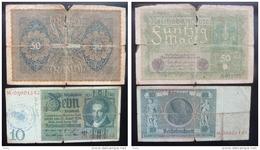 1924-  DIX REICHSMARCK- 1919-50 RBD - Zonder Classificatie