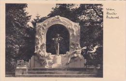Austria Vienna Strauss Denkmal Real Photo - Wien