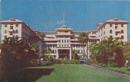 Hawaii Oahu The Moana Hotel Island Of Oahu