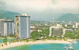 Hawaii Oahu Hilton Hawaiian Village Waikiki Beach