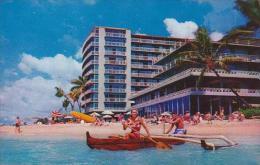 Hawaii Oahu The Reef Hotel On the Beach At Waikiki