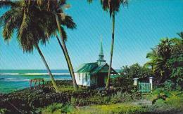 Hawaii Kona The Blue Church Of Saint Peters 1964