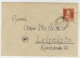 Gemeinschaftsausgaben Michel No. 963 gestempelt used auf Brief