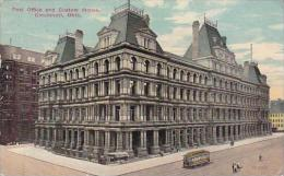 Ohio Cincinnati Post Office And Custom House 1912