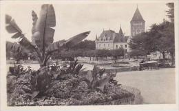 Switzerland Lausanne Ouchy Le Chateau Real Photo
