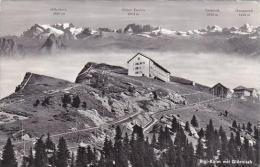 Switzerland Rigi-Kulm mit Glaernisch Real Photo