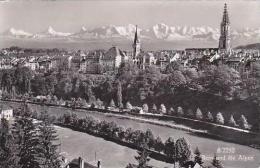 Switzerland Bern und die Alpen Real Photo