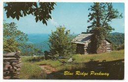 CP, ETATS-UNIS, NORTH CAROLINA, VIRGINIA, BLUE RIDGE PARKWAY, Voyagé En 1963 - Etats-Unis