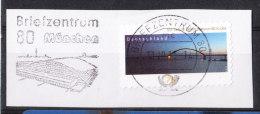 Germania   -   2013.  Ponte Fehmarnsundbrucke. Sticker.  Beautiful Obliteration - Ponti