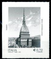 ITALIA / ITALY 2013** - Mole Antonelliana - Torino - 1 Val. Autoadesivo Come Da Scansione - 6. 1946-.. Repubblica