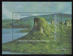 Micronesia MNH Scott #181 Souvenir Sheet $1 Sokehs Rock - Tourism Sites Of Polmpei - Micronésie