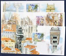FRANCE BLOCS SOUVENIR N° YVERT BS 38/43   / MAURY BS 4318B/G  LISBONNE  LUXE - Blocs Souvenir