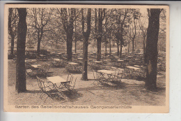 4504 GEORGSMARIENHÜTTE, Garten Des Gesellschaftskauses, Rückseitig Leicht Berieben - Georgsmarienhütte