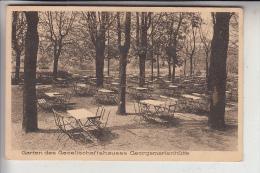 4504 GEORGSMARIENHÜTTE, Garten Des Gesellschaftskauses, Rückseitig Leicht Berieben - Georgsmarienhuette