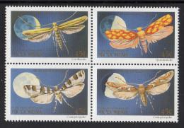 Micronesia MNH Scott #130a Block Of 4 Moths - Micronésie