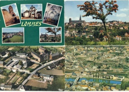 Lobbes -Jolie Série De 4 Cartes Modernes ( 1 ) - Lobbes