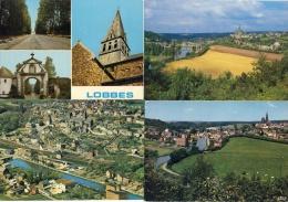 Lobbes - Jolie Série De 4 Cartes Modernes ( 2 ) - Lobbes