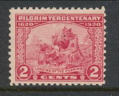 USA 1920 Scott 549. Pilgrim Tercentenary Issue, 2 C Carmine Rose, MNH (**) - Unused Stamps