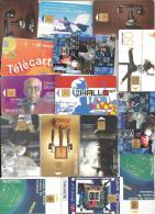 Lot De 24 Télécartes Diverses Des Années 1998 - Francia