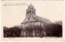 Neuf Brisach, Place D'Armes Et L'Eglise - Fév. 1919 - Neuf Brisach
