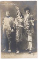 CARTE PHOTO THEATRE - LES MERVEILLEUSES - GUY - GALIPAUX - BRASSEUR - Théâtre