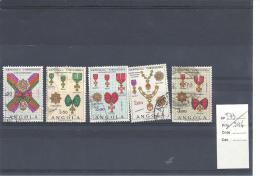 ANGOLA - 1967 - N° 541 - 543/546 - Décorations Diverses - Timbres