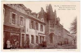Neuf Brisach, Rue De Strasbourg - Fév. 1919 (soldats, Poilus) - Neuf Brisach