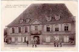 Neuf Brisach, Hôtel De Ville - Fév. 1919 (soldats, Poilus) - Neuf Brisach