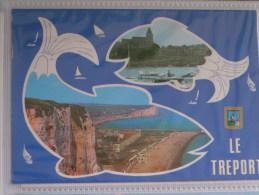 LE TREPORT  2 VUES - Le Treport