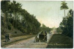 72 Circuit De La Sarthe - La Ligne Droite Entre Ardenay Et Bouloire - Unclassified