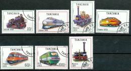 Tansania  -  Mi.Nr.  1022 - 1028   -   Gestempelt - Tansania (1964-...)