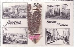 83 MONTFORT SUR ARGENS CARTE MULTI VUES UN SOUVENIR DE, LAVANDE - Altri Comuni