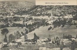 Kruth Et La Route De Ventron Vaches Paturage Edit J. Diemunch - Other Municipalities