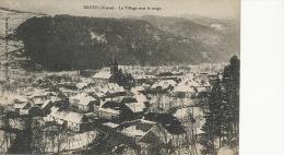 Kruth Le Village Sous La Neige Edit J. Diemunch - Other Municipalities