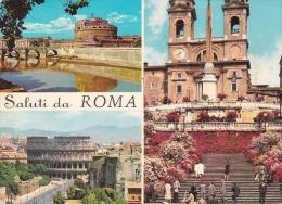 Italia--Roma--1974--Varias Vistas--Sello De Ciudad Del Vaticano--a, Narbone, Francia - Vaticano (Ciudad Del)