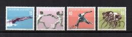 Liechtenstein   1958  .-   Y&T Nº     327/330   ( C/ Charniere ) - Liechtenstein