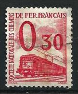 """FR Petits Colis YT 34 """" 30c. Rouge """" 1960 Oblitéré - Paketmarken"""